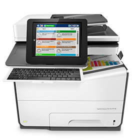 HP PageWide Enterprise Flow MFP-Drucker