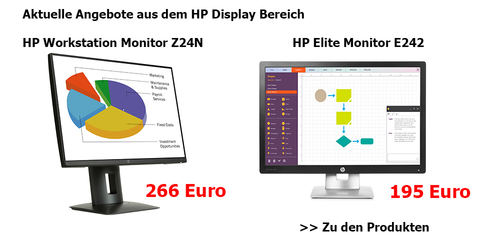 HP Display Angebote