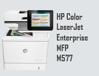 HP Color LaserJet Enterprise MFP M577