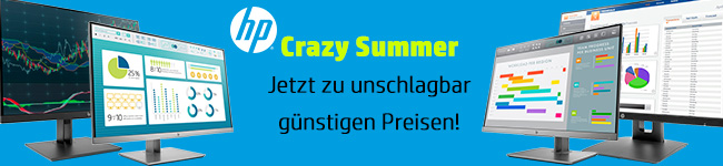 HP Crazy Summer Aktion