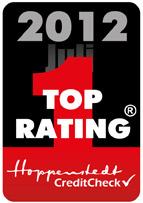 Hoppenstedt CreditCheck 2012 Top Rating
