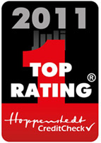 Hoppenstedt CreditCheck 2011 Top Rating