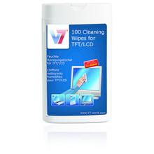 V7 CLEANING WIPES SMALL TUBE