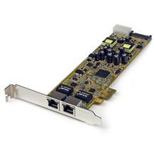 StarTech.com Dual Port PCIe Gigabit Netzwerkkarte
