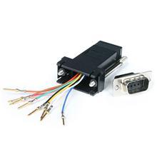 StarTech.com DB9 auf RJ45 Modular-Adapter - St/Bu