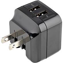 StarTech.com 2 Port USB Ladegerät/Netzteil 17W/3.4A