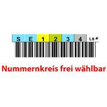 SoftExpress Barcode-Label LTO-8 Ultrium, (einzeln)
